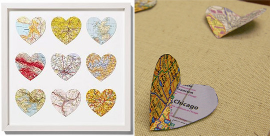 Made from a Map: Home Is Where the HEART Is
