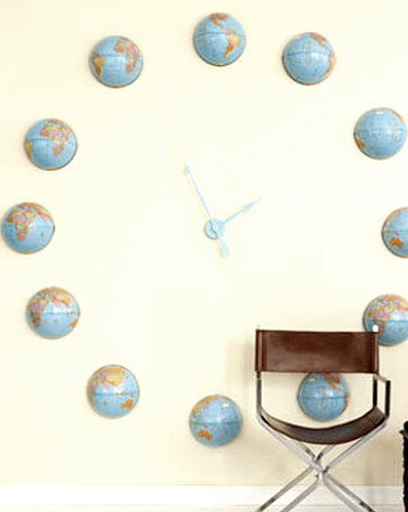 Made from a Map: A GLOBAL Clock