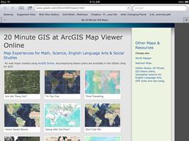 20 Minute GIS on iPad