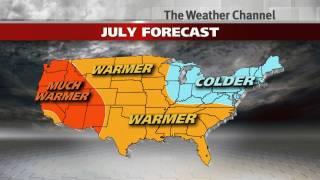 2013 Summer Temperature Forecast