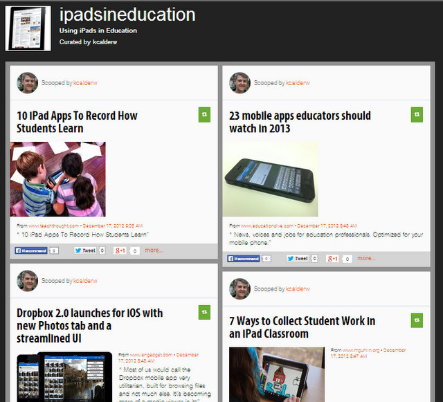 Resources for Using iPads in Education