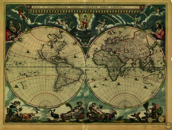 Twelve Maps that Changed the World
