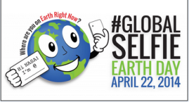 #GlobalSelfie Earth Day