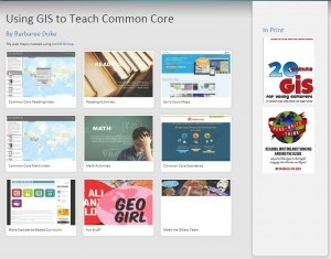 Using GIS to Teach Common Core
